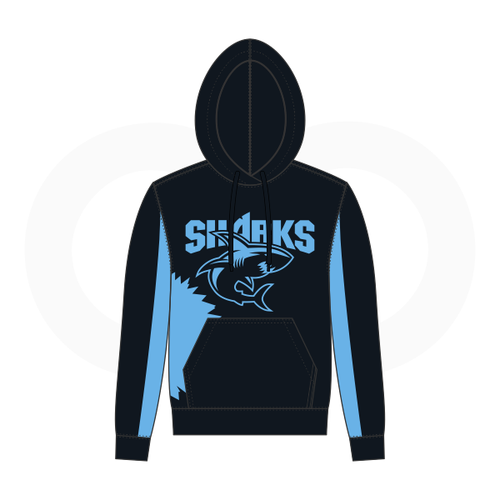 Sharks Sublimated Hoodie