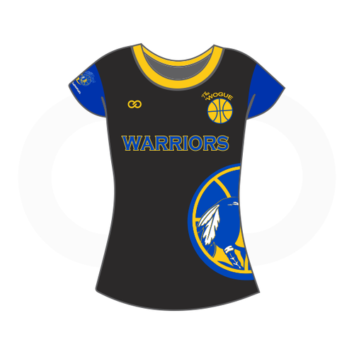 Wogue Warriors Ladies Short Sleeve T-Shirt (Option 1)
