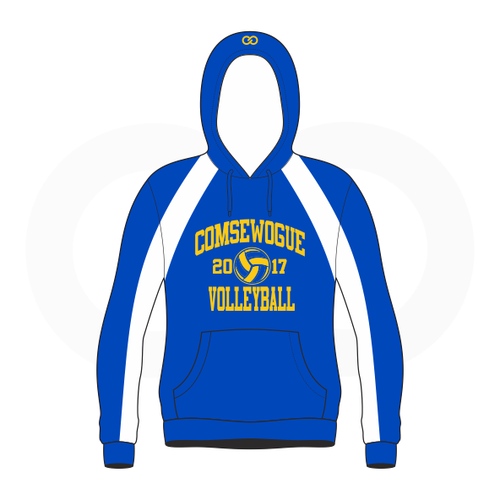 Wogue Warriors Volleyball Sublimated Hoodie (Senior '18)