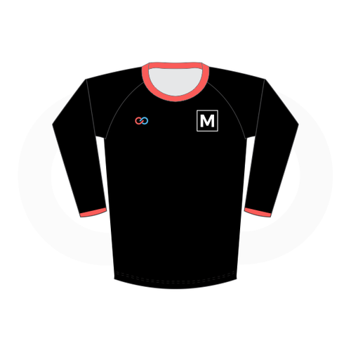 Boys Long Sleeve Volleyball Jersey