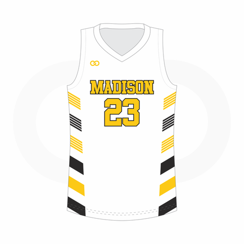 Madison Basketball Jersey Away