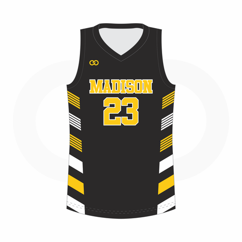 Madison Basketball Jersey Home