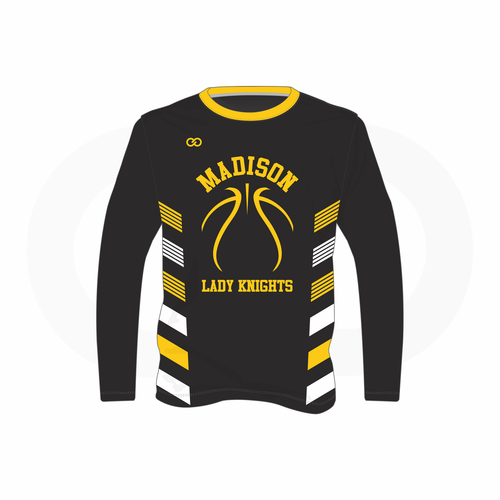 Madison Basketball  Long Sleeve Shooters T-Shirt