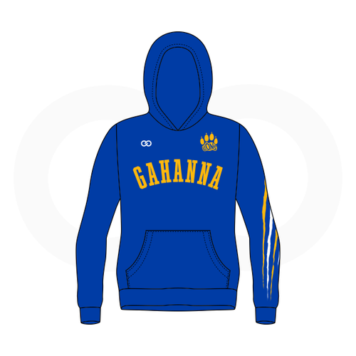 Gahanna Lions Basketball Hoodie (Royal Blue)