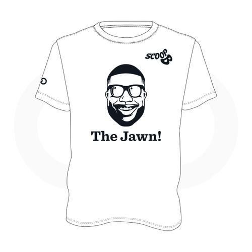 Scoop B Radio 'The Jawn!' White T-Shirt