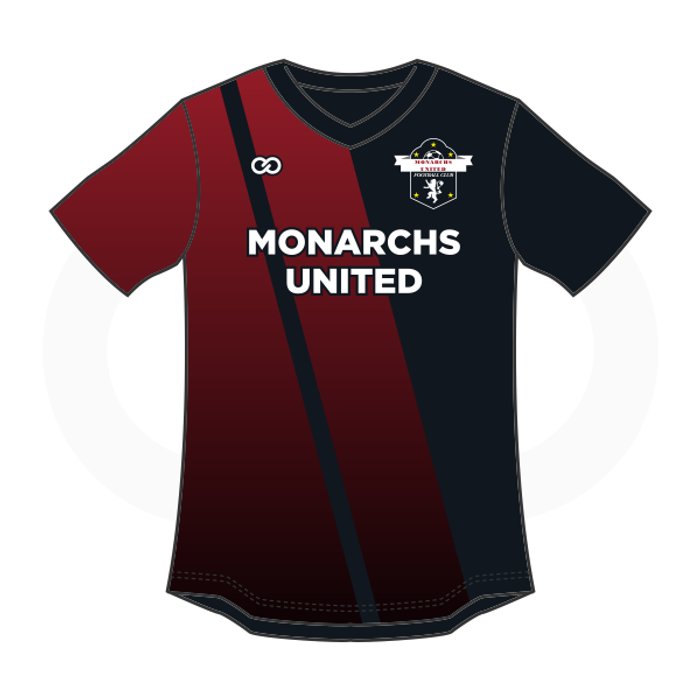 efc5b5315 Monarchs United Soccer Jersey - Black - Wooter Apparel