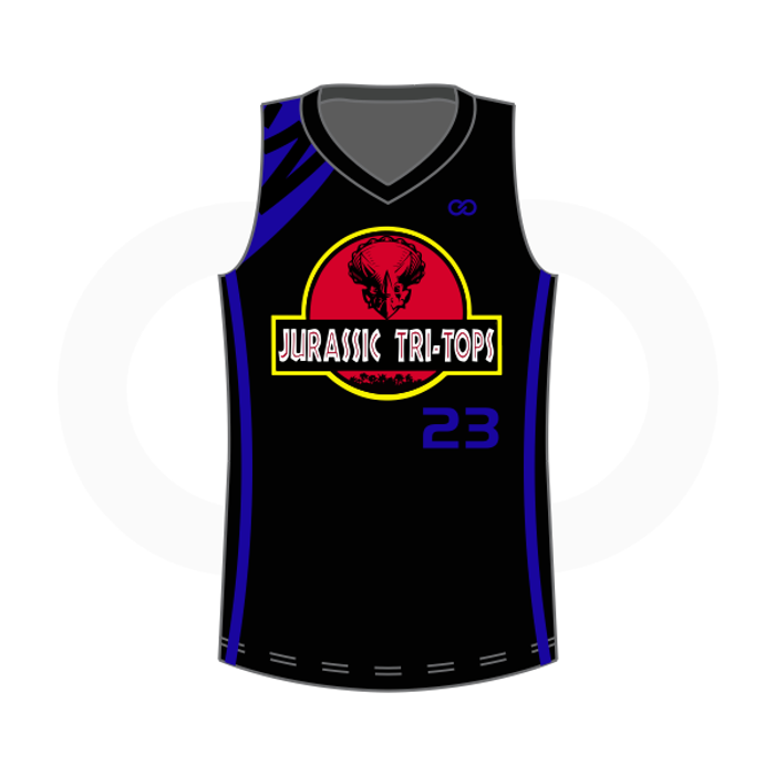 Club One Jurassic Tri Tops Reversible Uniform