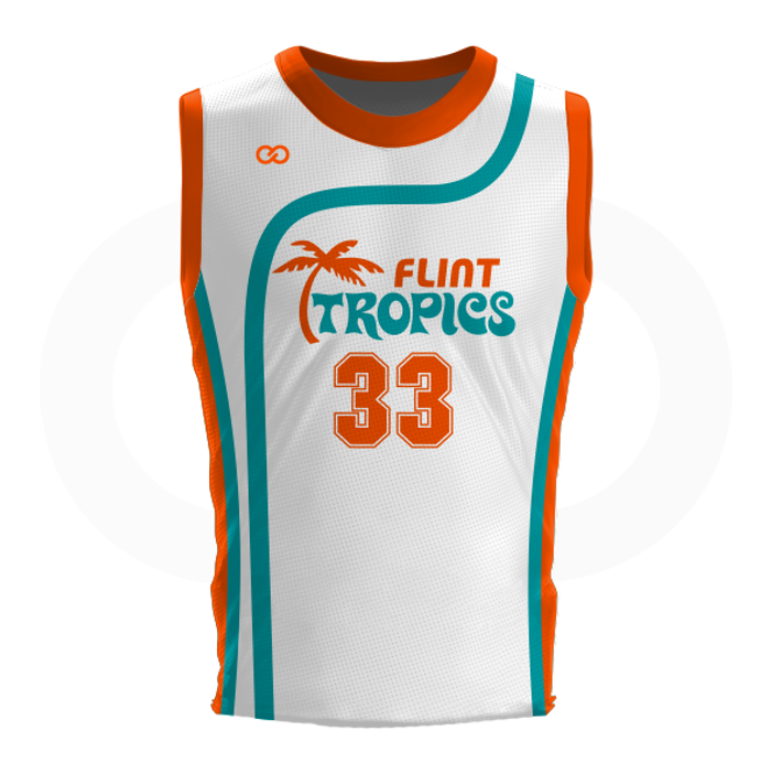 Flint Tropics - Custom Basketball Jersey