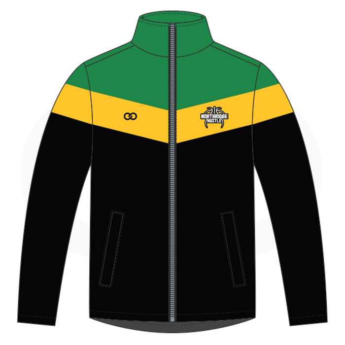 Northridge Hustle Basketball  Warmup Jacket - Style 1