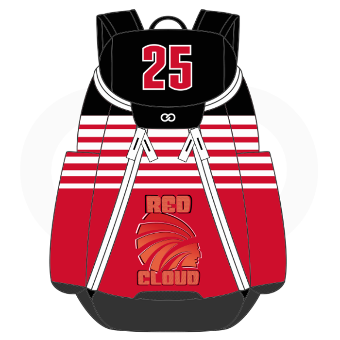 Red Cloud Basketball Backpack