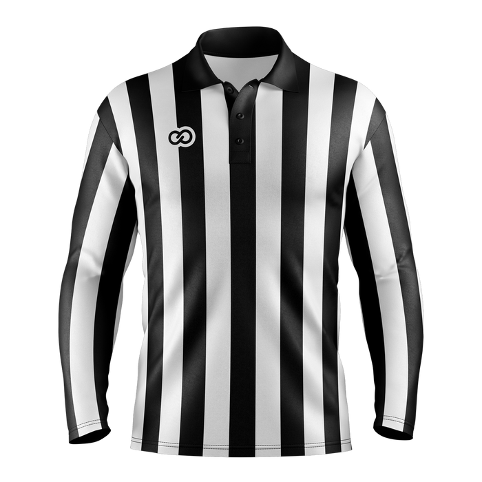 Referee Long Sleeve Polo