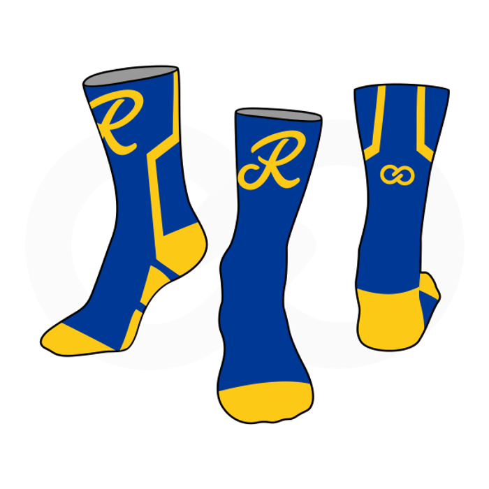 Royals Basketball Socks - Royal