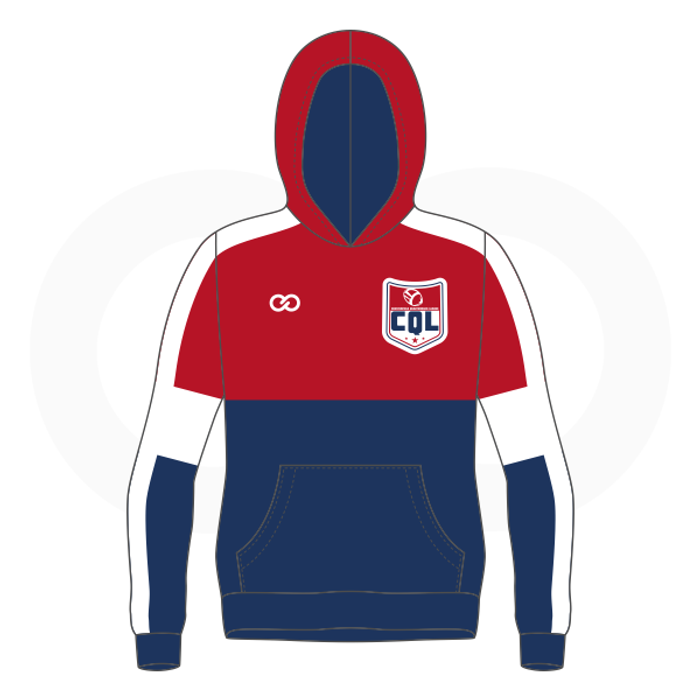 Chesterfield QB Red Blue Hoodie