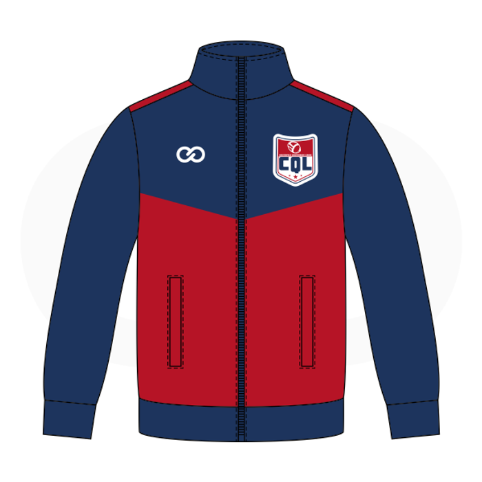 Chesterfield QB Red Blue Warmup Jacket