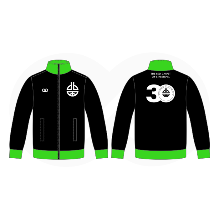 Dyckman Basketball  Warmup Jacket