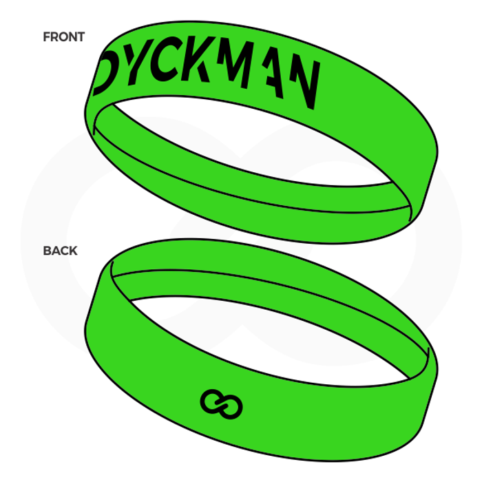 Dyckman Basketball Sweatband