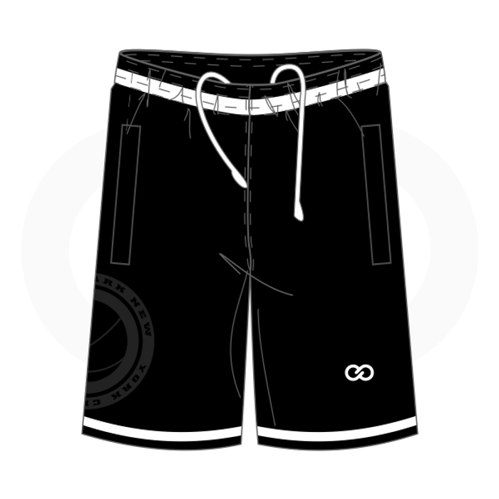 Entertainers Rucker Park Shorts - Style 6