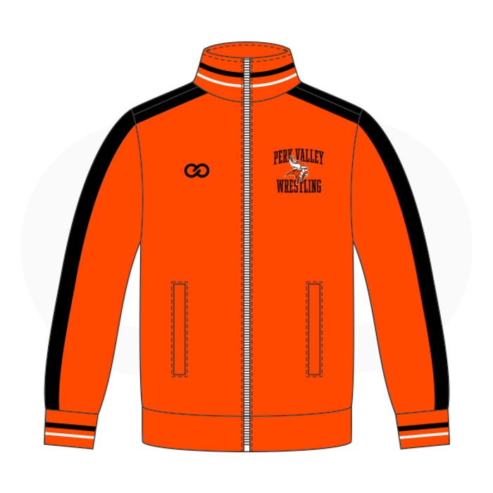 Perkiomen Valley Warmup Jacket - Orange