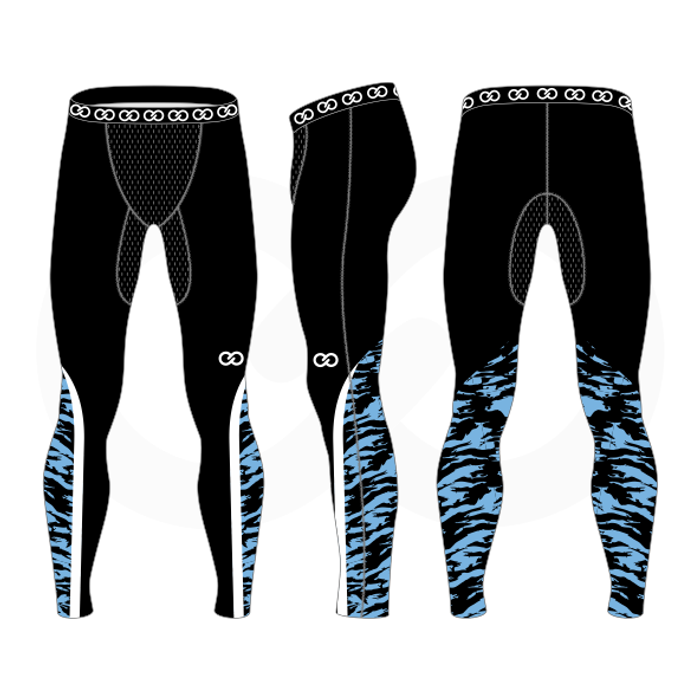 St Therese Tornadoes Compression Tights - Mens