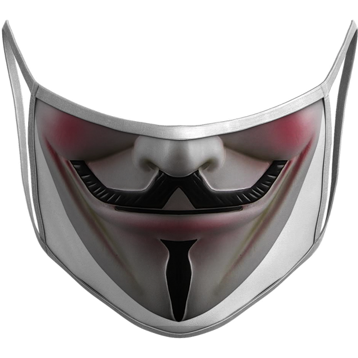 Anonymous Sublimated Reusable Mask