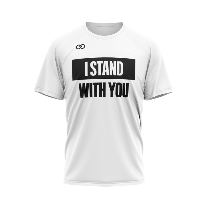 I Stand with You - White Tee