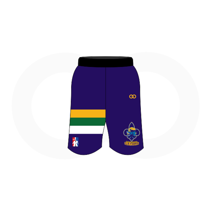 NOLA Gators Navy Basketball Shorts