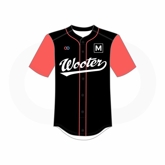9fe142d42a5 Women's Button-Down Baseball Jerseys - Wooter Apparel