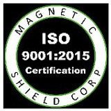Magnetic Shields ISO 9001:2015 Certification Renewal
