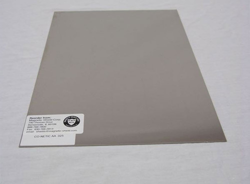 Co-NETIC® AA Stress Annealed Sheet by Magnetic Shield Corporation