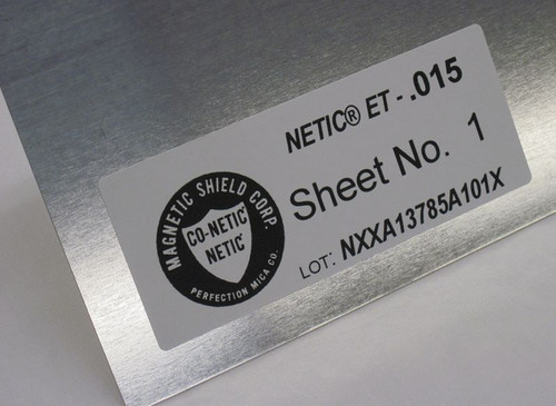 NETIC® S3-6 ET (Electro-Tin Plated) Sheet