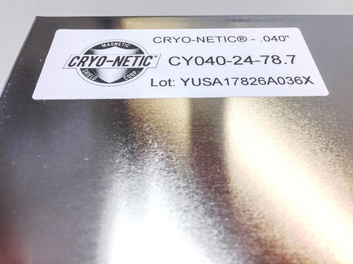 CRYO-NETIC® Stress Annealed Sheet
