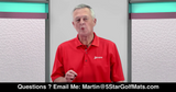 Martin Hall's School of Golf - Ask Martin A Question! Watch Video for Martin's Email!