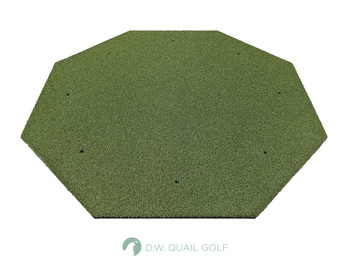 5'x5' Octagon - 5 Star Commercial Golf Mat