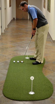 True Roll Putting Green 3' x 8' Kidney Shaped