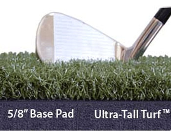 5/8 base pad & ultra-tall turf