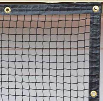 Dura-Pro 9' x 25' High Velocity Hang & Hit Golf Ball Net Impact Panel with border and grommets