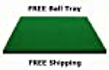 4' x 4' DuraPro PREMIUM DELUXE COMMERCIAL Driving Range Quality Golf Hitting Mats Make All Other Golf Mats Obsolete, FREE Golf Ball Tray & Tees, USA Manufactured Since 1997 As Seen on The Golf Channel