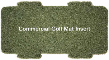"5 Star Multi-Surface Commercial Golf Mat Insert 12"" x 28"""