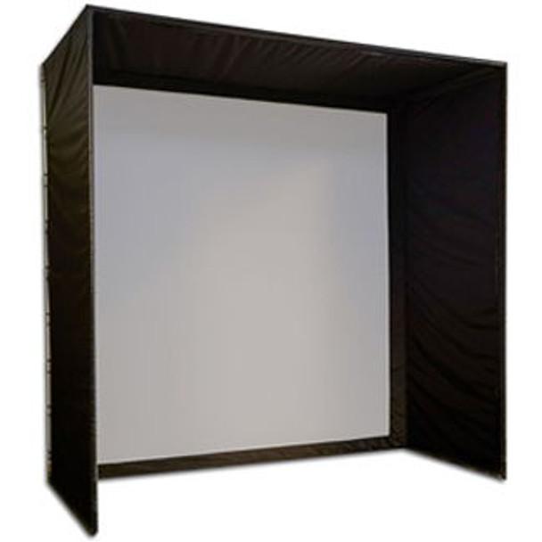 5 Star Golf Simulator Shadow Box Enclosure Kit With Screen (5 ft. Deep)