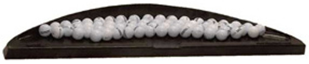 Deluxe Rubber Golf Ball Tray - Premium Professional Quality