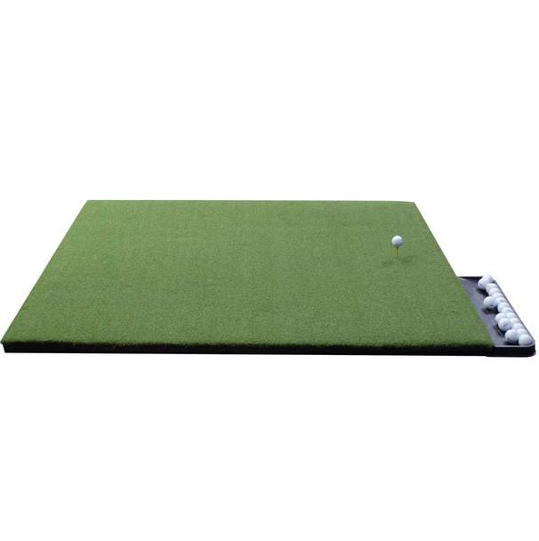 5x5 Perfect ReACTION Wood Tee Golf Mat