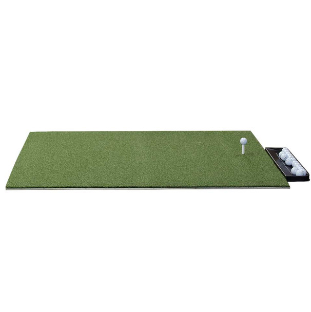 Dura-Pro Plus Residential Golf Mat - 5x5 free golf ball tray