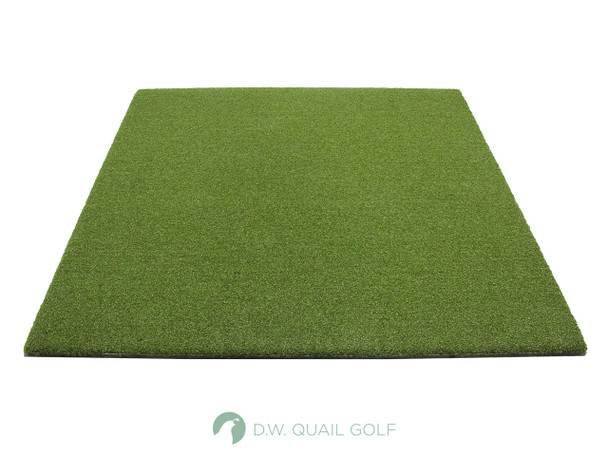 5'x5' - Dura-Pro Multi-Club Champion WoodTee Mat - Front view