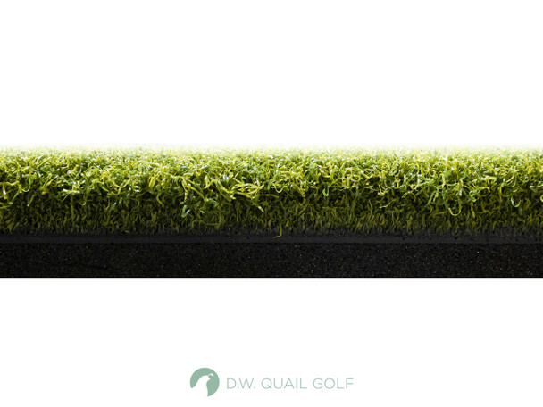 4'x5' - Perfect ReACTION Urethane Backed Wood Tee Golf Mats - Top View