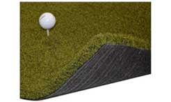 Martin Hall's 5 Star Urethane Wood Tee Golf Mat by Dura-Pro