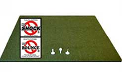 Martin Hall 5 Star Zoysia Fairway Deluxe Driving Range Golf Mats