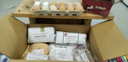 20 lb. Winter SAMPLE PACK WITH EGGS!