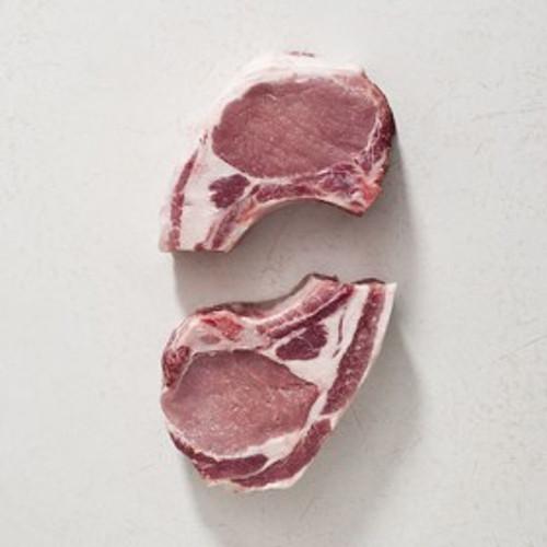 Bone-In Pork Chops ( .5in thick - $15.75/lb)