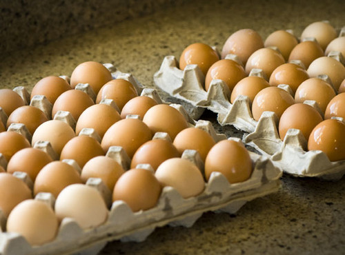 Case of 9 dozen large eggs
