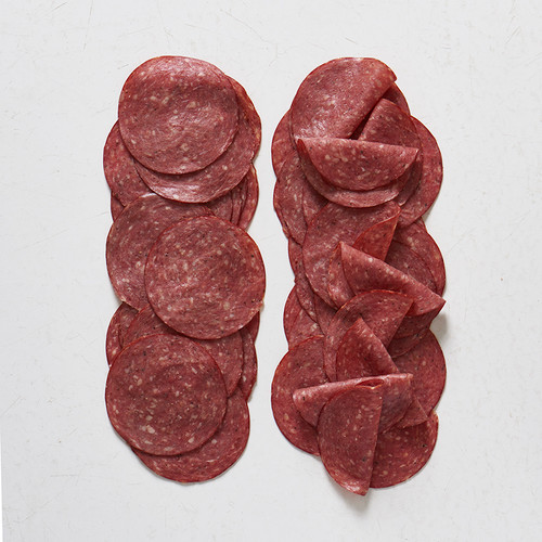 Uncured, cooked Beef Salami